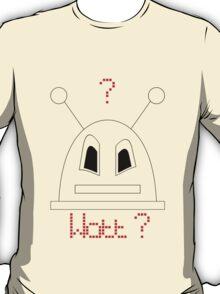 Robot (Watt? Angry eyes) Non-Filled face T-Shirt