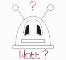 Robot (Watt? Dismayed eyes) Non-Filled face Kids Clothes