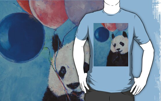 Panda Party by Michael Creese