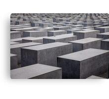 Holocaust Memorial, Berlin, Germany Canvas Print