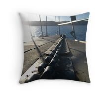 The Strongest Link Throw Pillow