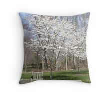 Spring Has Arrived Throw Pillow