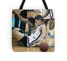 UIndy vs Missouri St 5 Tote Bag