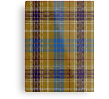 00118 Ottawa District Tartan  Metal Print