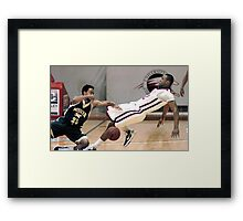 Missouri vs UIndy 1 Framed Print