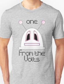 Robot (One from the Volts, Sad eyes) Filled face Unisex T-Shirt