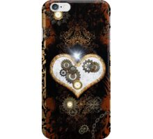 Steampunk,  with awesome heart iPhone Case/Skin