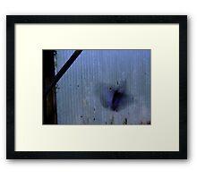 Morph Framed Print