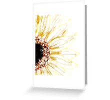 Scribbler Sunflower Greeting Card