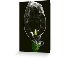 Scribbler Calla Lilly Greeting Card