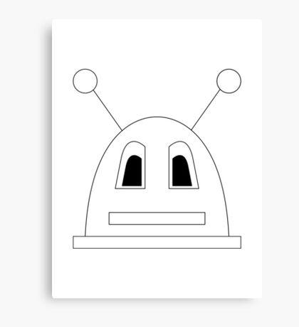 My Robot Canvas Print