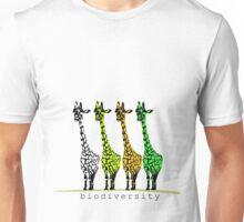 4 Giraffes Unisex T-Shirt
