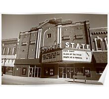 Alpena, Michigan - State Theater Poster