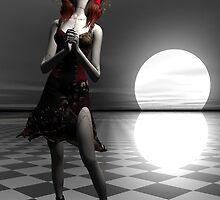 Moonlight Wish by Sandra Bauser Digital Art