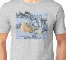 Yoga Bear stuck Unisex T-Shirt