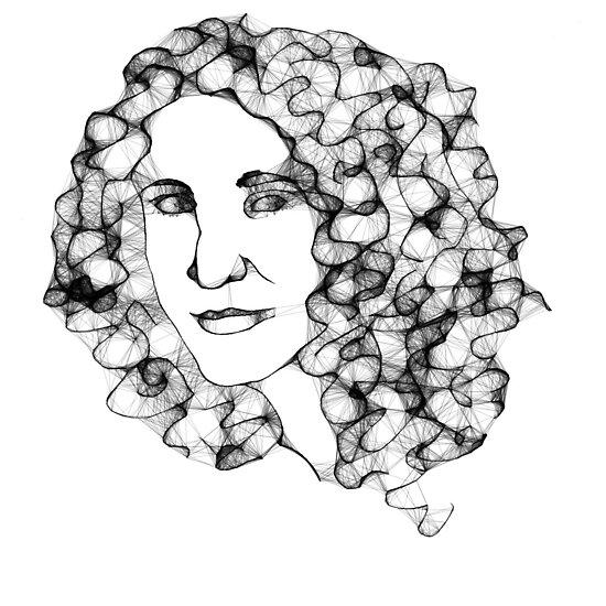 Self Portrait by Jessica Manelis