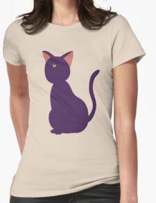 Luna (Minimalist) Womens Fitted T-Shirt