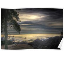 View from Beetle Rock, Sequoia National Park Poster