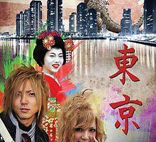 Tokyo Three by Philip Zeplin