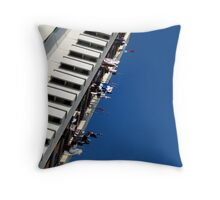 Washing Line High Throw Pillow