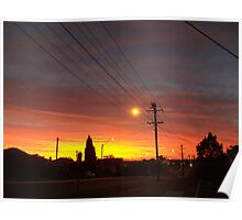 Pajama Sunrise Poster
