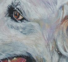 Great Pyrenees  Fine Art Painting Sticker