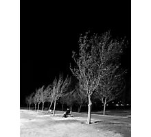 Ridgecrest Park in December Photographic Print