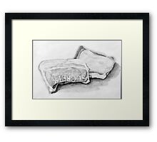 Completed Throat Remedy Framed Print