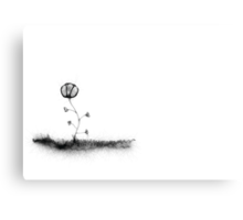 Little Flower Canvas Print