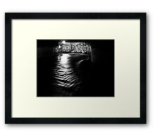 Hobart's Underworld Framed Print