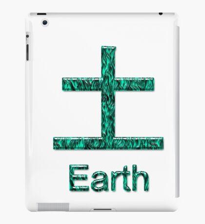 EARTH KANJI iPad Case/Skin