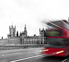 Rushing past the Corridors of Power by Darren Bell