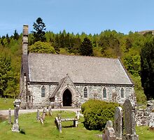 Balquhidder Kirk by Stuart  Fellowes