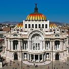 The Fine Arts Palace in Mexico City by Atanas Bozhikov NASKO