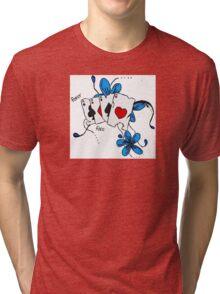 'Poker Face' Tri-blend T-Shirt