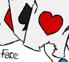 'Poker Face' Sticker