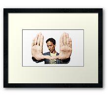 Abed Nadir Framed Print