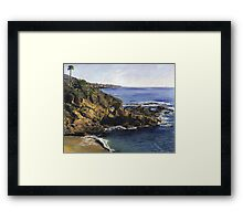 Key Hole Arch Laguna Framed Print