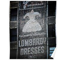 Lombardy Dresses Poster