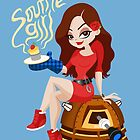 Souffle Girl by Megan Kelly