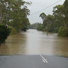 Flooded Buchanan Rd, Morayfield Qld by SusanSalutation