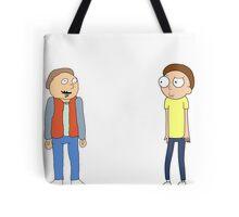 Mharti And Morty Tote Bag