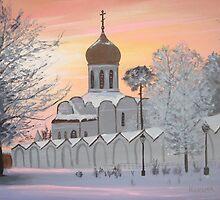 Heavenly Morning by artbyksusha