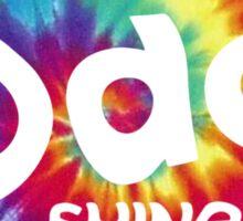 SHINee Odd Logo Tie dye Sticker