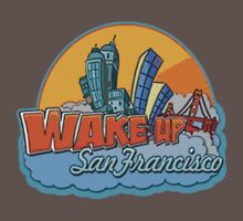 Wake Up San Francisco One Piece - Short Sleeve