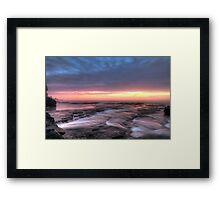 Bangally Sunrise - HDR Framed Print