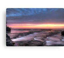 Bangally Sunrise - HDR Canvas Print