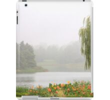 Foggy Lake iPad Case/Skin