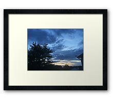 Sunset 14 Framed Print