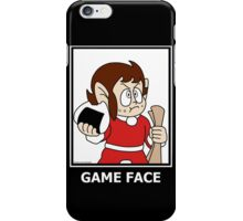 Alex Kidd - Game Face iPhone Case/Skin